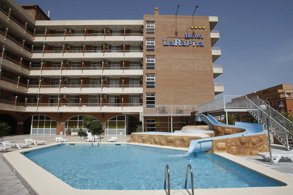 HOTEL MEDSUR LA RAPITA , EN SAN CARLOS DE LA RÁPITA (TARRAGONA).